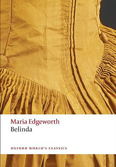 Maria Edgeworth's Belinda cover